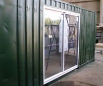 Modified Containers - Glass Doors