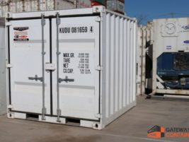 10ft shipping container General Purpose White