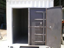 Secure container door Gateway Container Sales