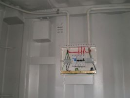 Container electrical switch board