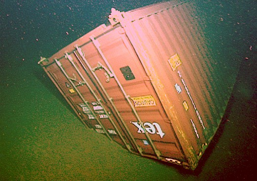 Lost Shipping Container