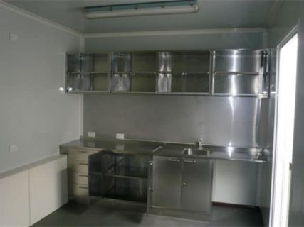 Shipping Container kitchen & lunch room 2