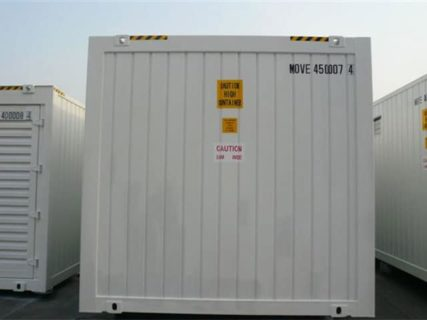 Shipping Container lunch room exterior
