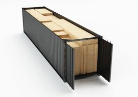 BAKOKO Timber Cafe Container