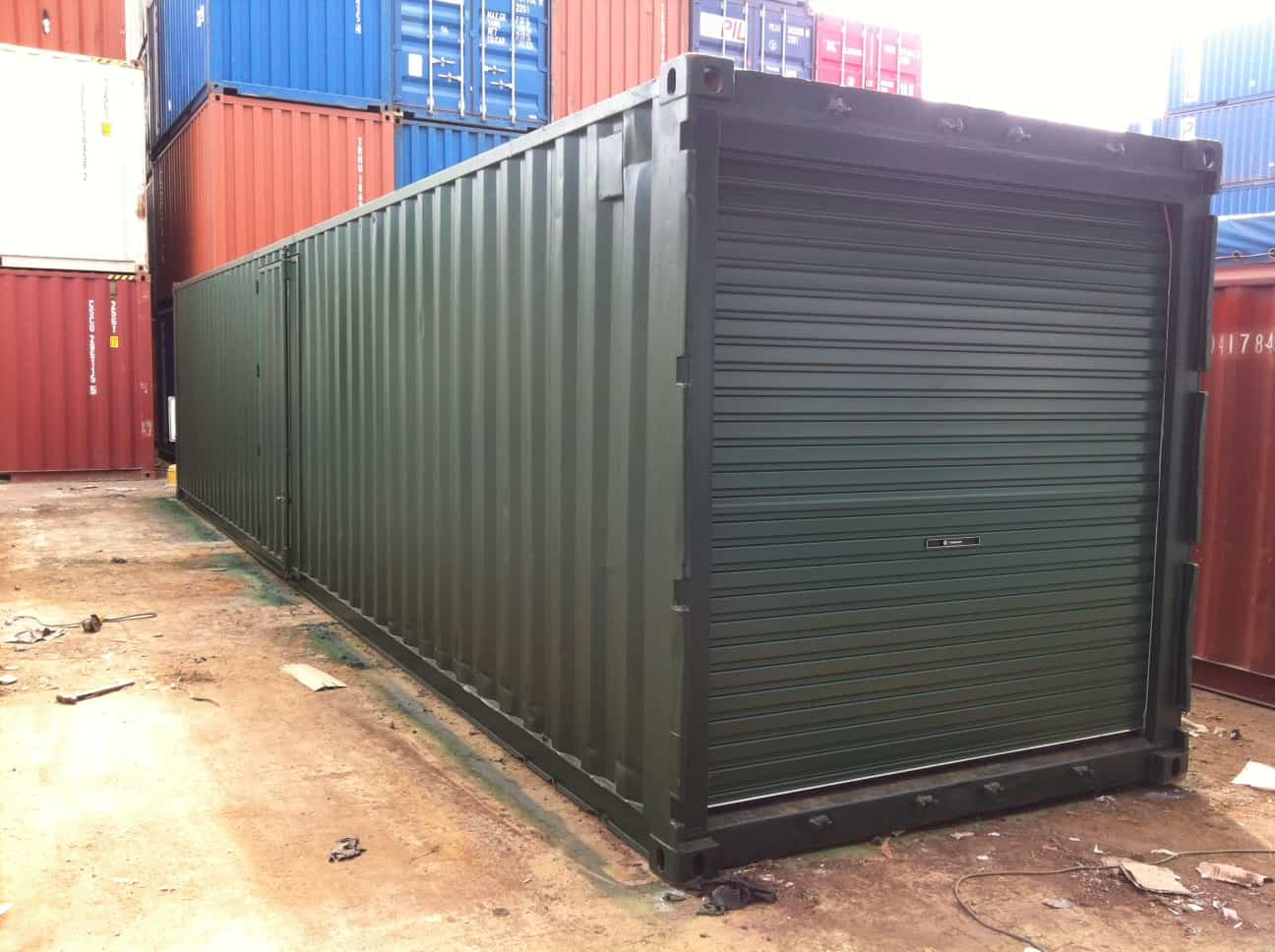 Shipping Container Car Storage