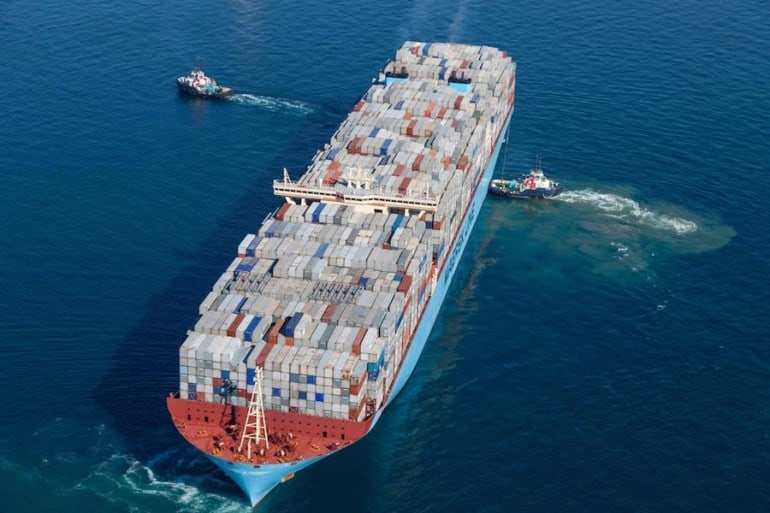 Maersk-EEE-Containership