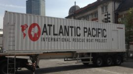 Lifeboat Station In a Shipping Container?