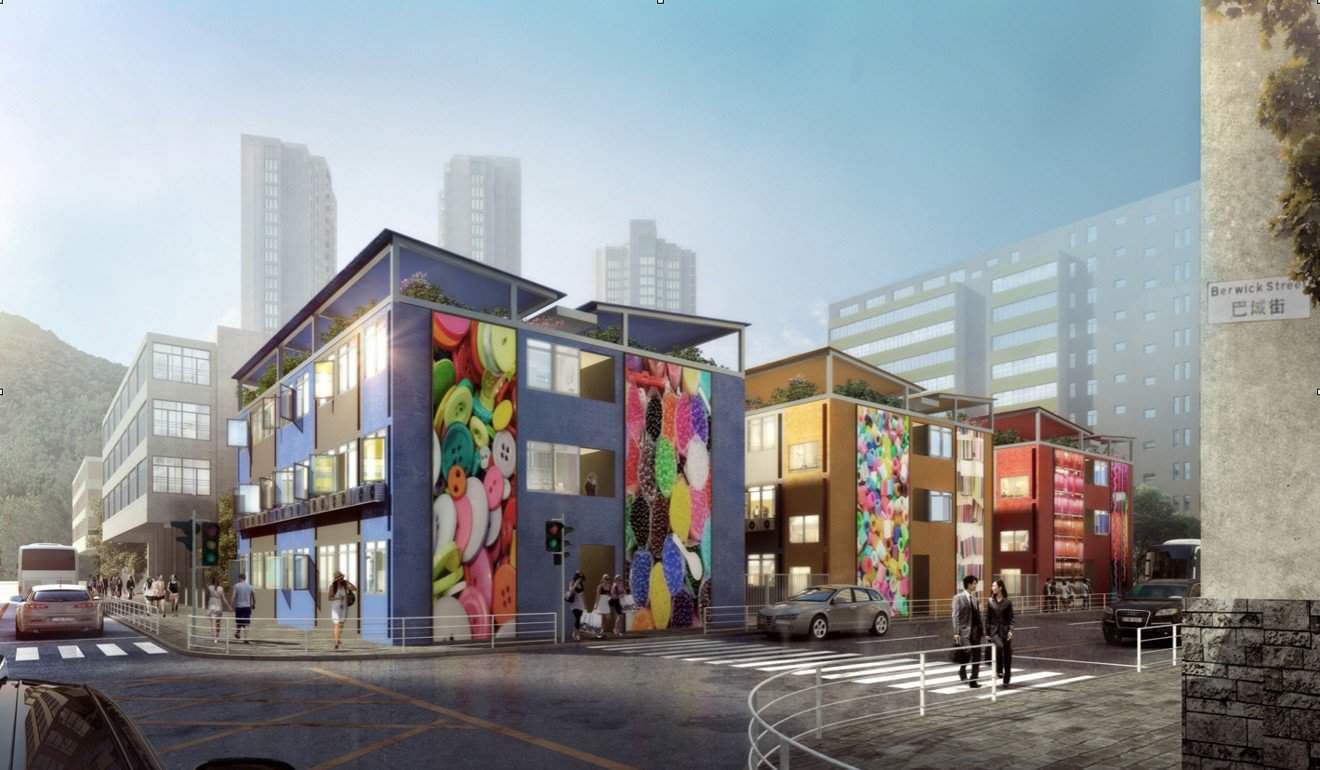 Container Social Housing in the Most Expensive City in the World