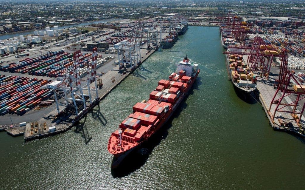 Port of Melbourne Hits 3 Million TEUs of Shipping Containers