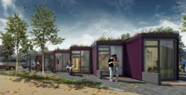 Planning Approval for Studio Apartment Container Housing in UK