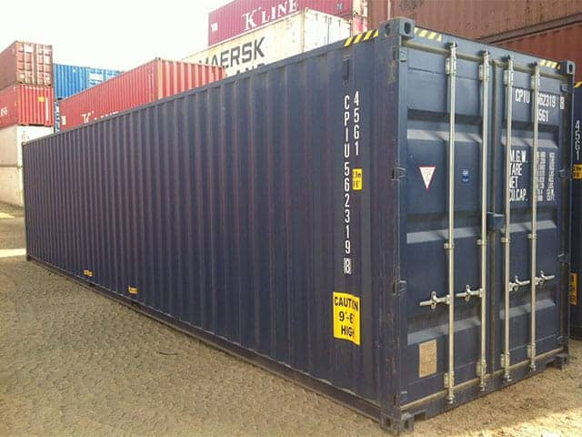 Shipping Container for sale blue