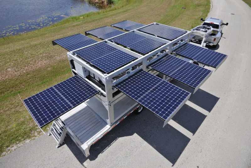 Container Van Solar