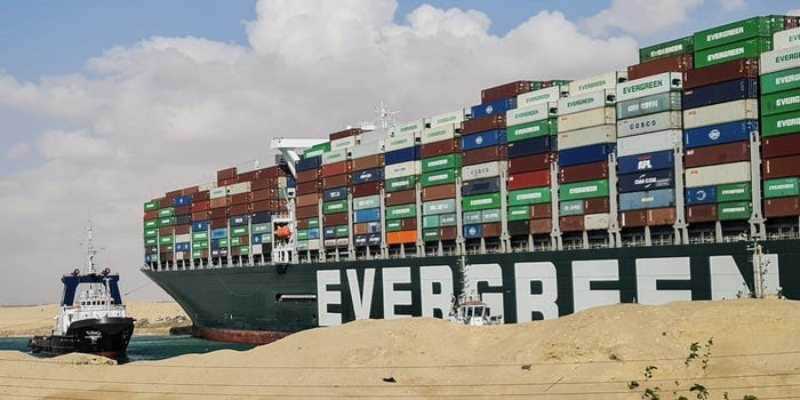 Ever Given container ship stuck