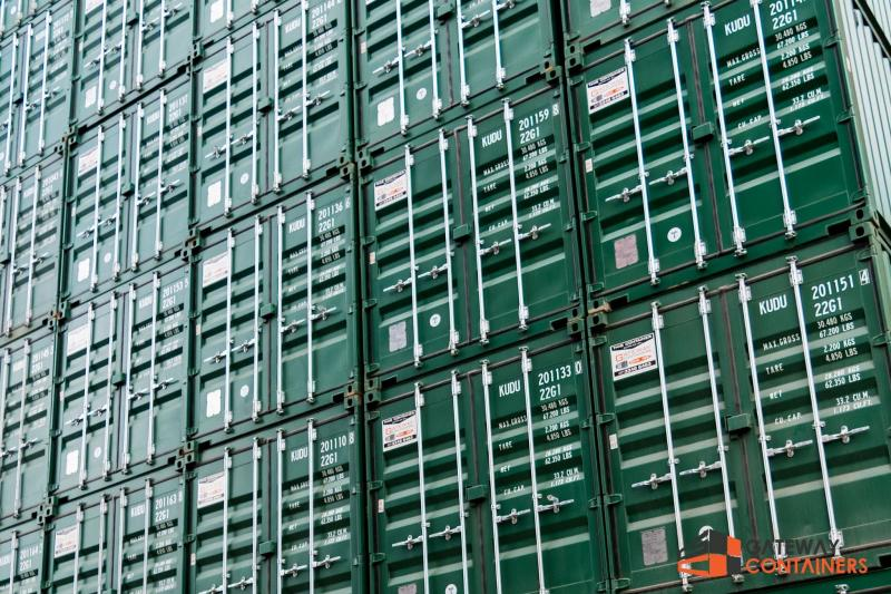 how are shipping containers made
